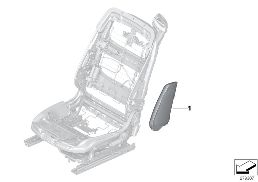 INDIVIDUAL AIRBAG FOR SEAT, FRONT