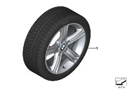 WINTER WHEEL W.TIRE STAR SP.393 - 17