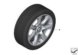 WINTER WHEEL W.TIRE STAR SP.396 - 18