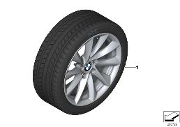 WINTER WHEEL W.TIRE TURBINE SP. 415-18