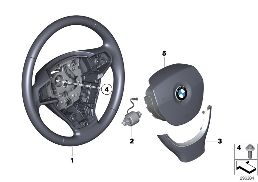 STEERING WHEEL AIRBAG MULTIFUNCTIONAL