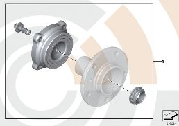 KIT, WHEEL BEARING, REAR / VALUE LINE