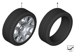 WHEEL AND TIRE COMBINATIONS