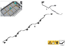 HIGH-VOLTAGE BATTERY WIRING HARNESSES
