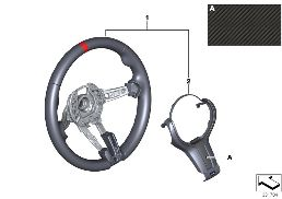 M PERFORMANCE STEERING WHEEL II