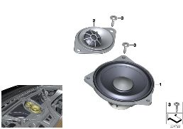 LOUDSPEAKER, INSTRUMENT PANEL