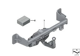 RETROFIT KIT, TRAILER COUPLING SWIVELING