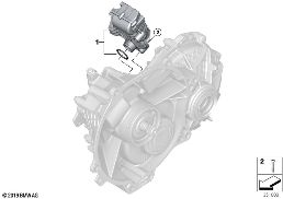 E-VEHICLE TRANSMISSION SINGLE PARTS