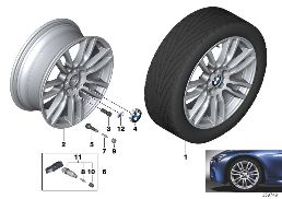 BMW LA WHEEL M STAR-SPOKE 403 - 19''