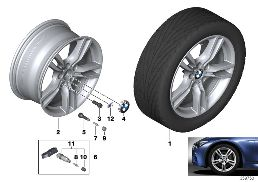BMW LA WHEEL M STAR-SPOKE 400 - 18''