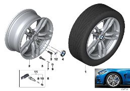 BMW LA WHEEL M DOUBLE SPOKE 441 - 18''