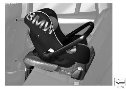 BMW BABY SEAT 0+