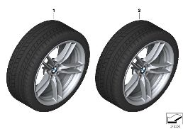 WINTER WHEEL W.TIRE M V-SP.641M - 19
