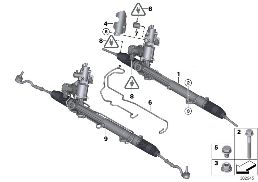 HYDRO STEERING BOX-ACTIVE STEERING (AFS)