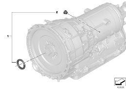 GA8P75HZ SEAL ELEMENTS, TRANS. HOUSING
