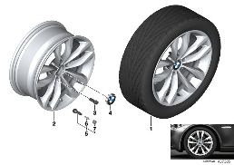 BMW LA WHEEL STYLING 609 - 18''