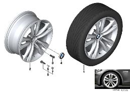 BMW LA WHEEL STYLING 610 - 19''