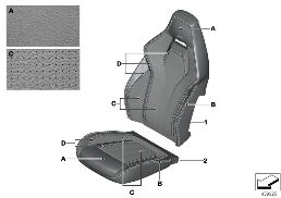 INDI. COVER M MULTIFUNCTION SEAT CLIMATE