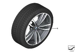 WINTER WHEEL W.TIRE M DOUB.SP.647M-19