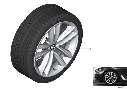 WINTER WHEEL W.TIRE DOUBLE SP.630 -19