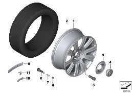 LIGHT-ALLOY WHEEL STYLING 653