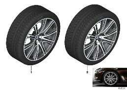 WINTER WHEEL W.TIRE V-SP.649I - 20