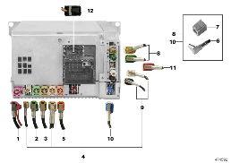 realoem com online bmw parts catalog wiring harn assort head unit high