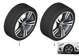 WINTER WHEEL W.TIRE M DOUB.SP.648M-20