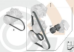 REP. KIT, DRIVEBELT ASSEMBLY,VALUE LINE