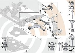 REPAIR KIT FOR RADIUS RODS AND WISHBONES
