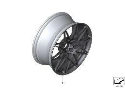 INDIVID.OPT.LA WHEEL M DOUBLE SPOKE 666M