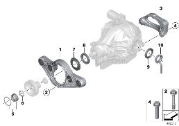 REAR DIFFERENTIAL ADAPTER / GASKETS
