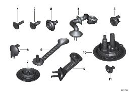 VARIOUS CABLE GROMMETS