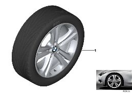 BMW LA WHEEL DOUBLE SPOKE 401 - 19''