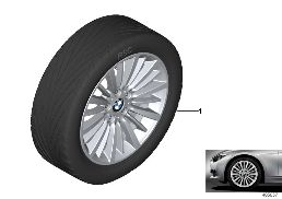BMW LA WHEEL MULTI-SPOKE 416 - 18''