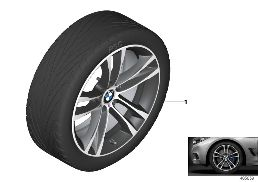 BMW LA WHEEL M DOUBLE SPOKE 598M- 19