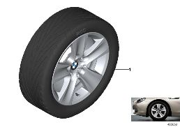BMW LA WHEEL STAR SPOKE 327 - 17''