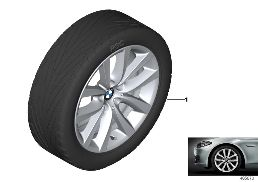 BMW LA WHEEL V-SPOKE 331 - 19''