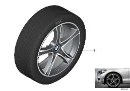 BMW LA WHEEL DOUBLE SPOKE 361 - 20