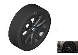BMW LA WHEEL V-SPOKE 413 - 17''
