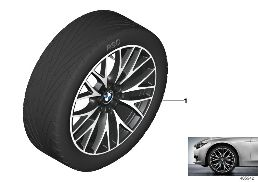 BMW LA WHEEL CROSS-SPOKE 404 - 20