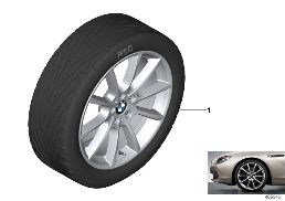 BMW LA WHEEL V SPOKE 281 - 18