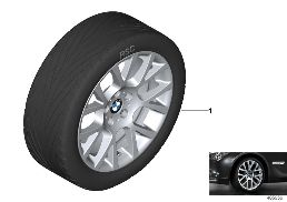 BMW LA WHEEL DOUBLE SPOKE 238 - 19