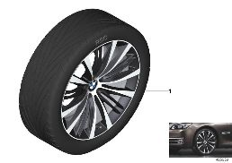 BMW LA WHEEL V-SPOKE 463 - 21