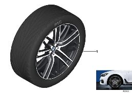 BMW LA WHEEL M PERF. DOUB.SP.650M-21