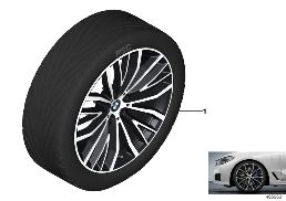 BMW LA WHEEL V-SPOKE 687 - 21