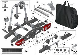 REAR BICYCLE CARRIER 'PRO'