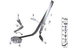 SAFETY BELT, REMA, FRONT