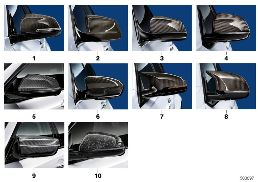 M PERFORMANCE EXTERIOR MIRROR FLAPS
