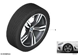 BMW LA WHEEL M DOUBLE SPOKE 648M - 20